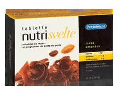 Image du produit Personnelle - Nutrisvelte tablettes substituts de repas, 6 x 390 g, moka et amandes