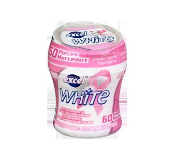 Excel White menthe balloune, 60 unités