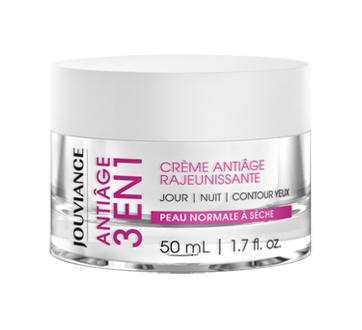 Antiâge 3 en 1 crème rajeunissante, 50 ml, peau normale à sèche