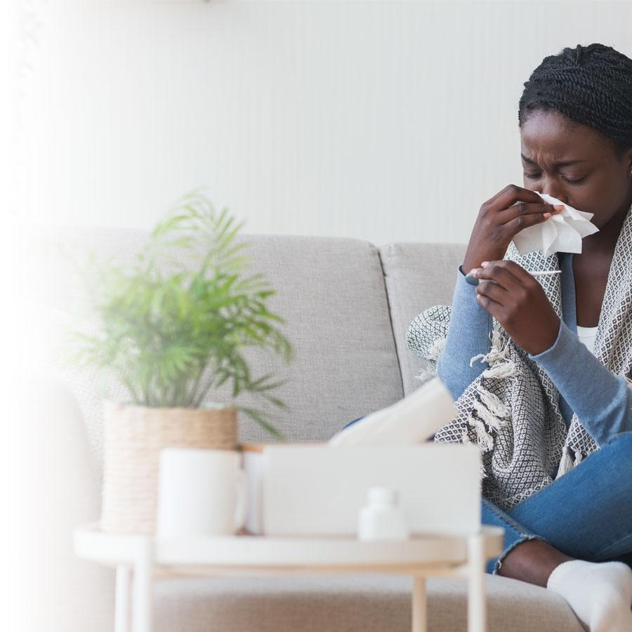 Fight cold and flu symptoms