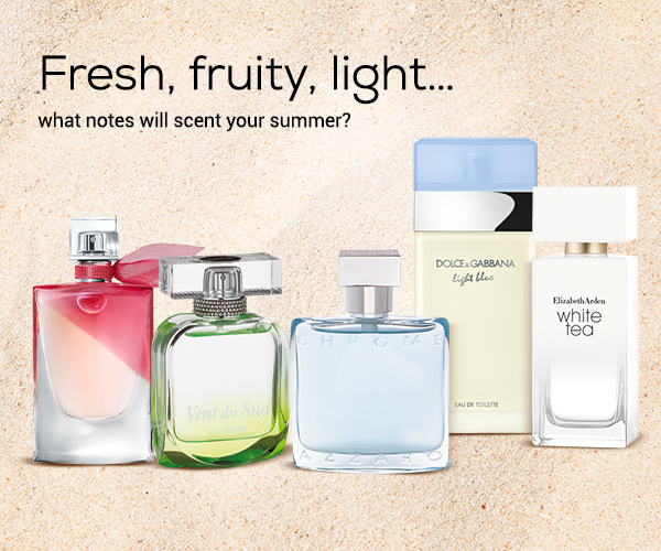 Fragrances estivales