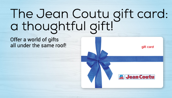 Jean Coutu gifts cards