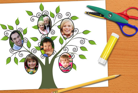 Create a family tree