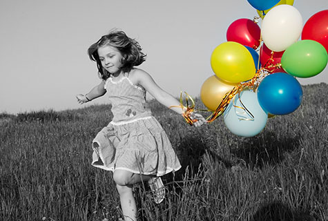 Photo noir et blanc et couleur en ligne