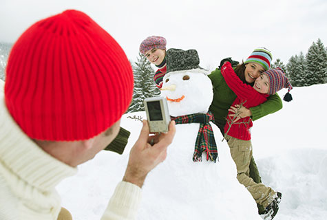 You don't have to put your camera equipment or smartphone away for the winter!