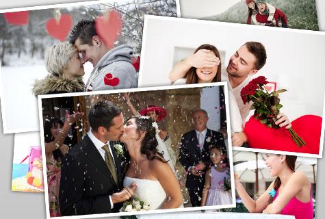 montage de photos romantiques - Logiciel Montage Photo Mariage Gratuit