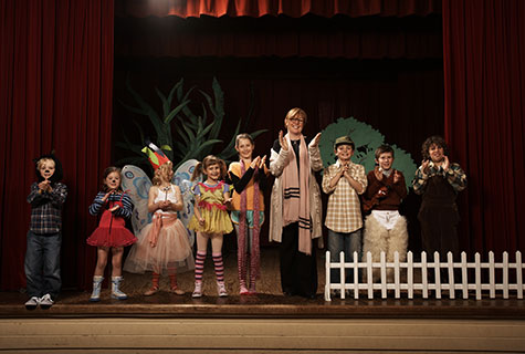 Photographing a child's performance can be daunting.