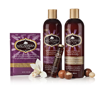 Hask - Macadamia Oil Hydrating Collection