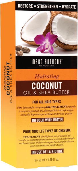 Coconut Oil & Shea Butter Biotin Oil Treatment from Marc Anthony