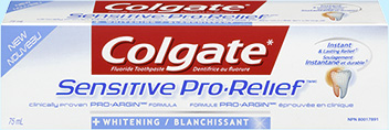 Colgate Pro-Relief Sensitive Whitening Toothpaste