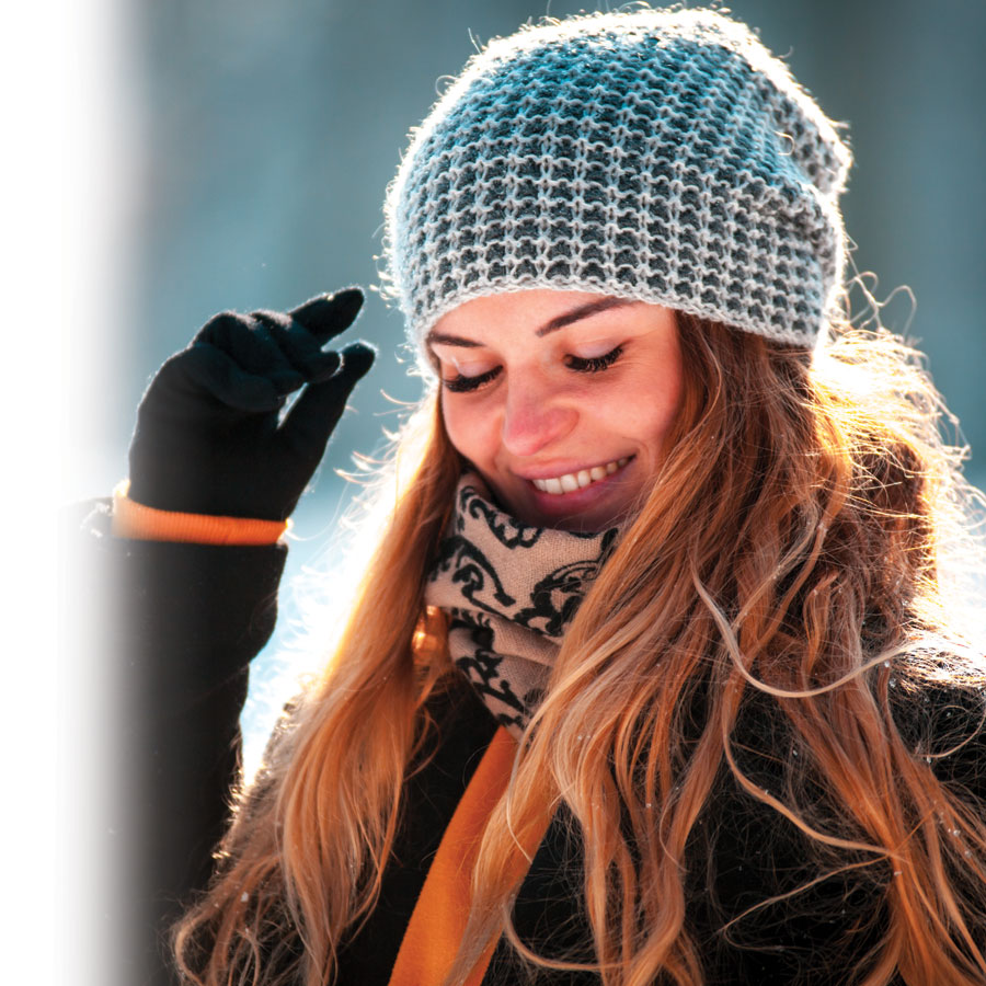 Protect your sensitive skin from the sun, even during winter!