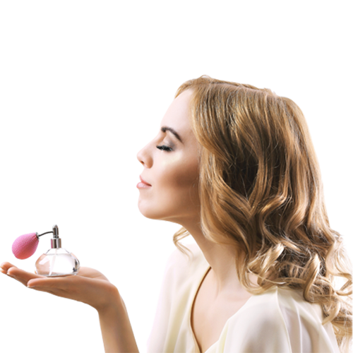 Feminine fragrance ritual