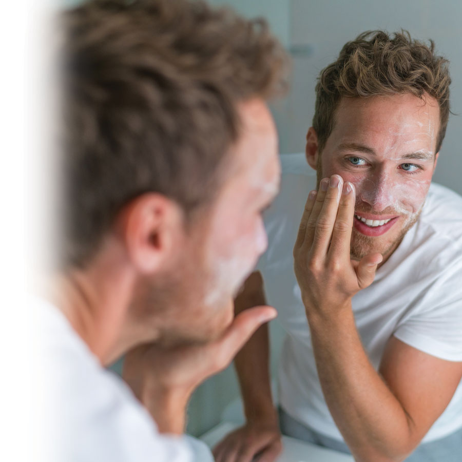 3-step beauty routine for men