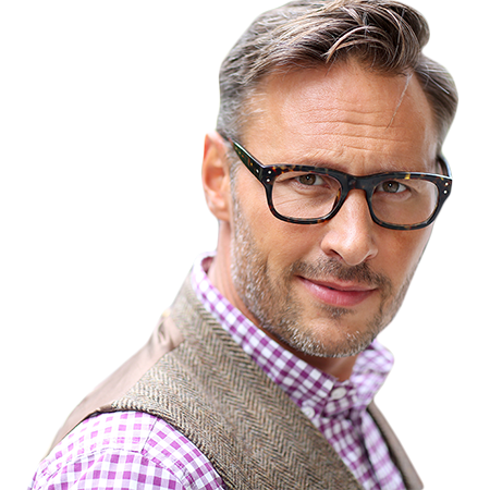 Men: dare to colour your grey hair!