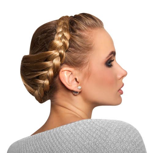 How to make a crown braid