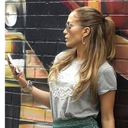 Celebrity trend: The half-up ponytail