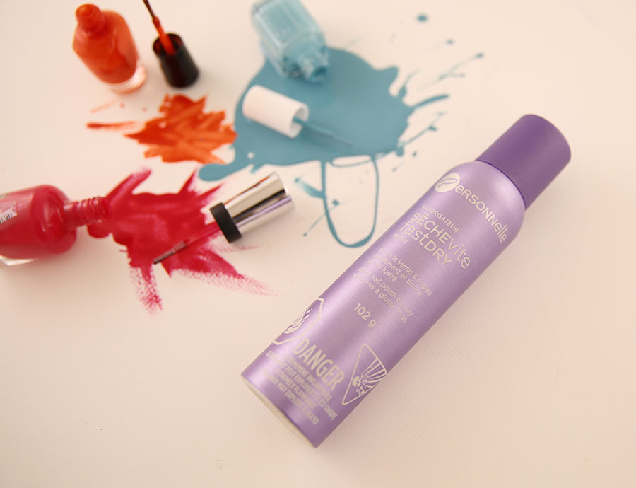 personnelle cosmetics Fast Dry spray