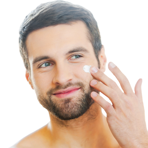 Men: a face cream for every skin type