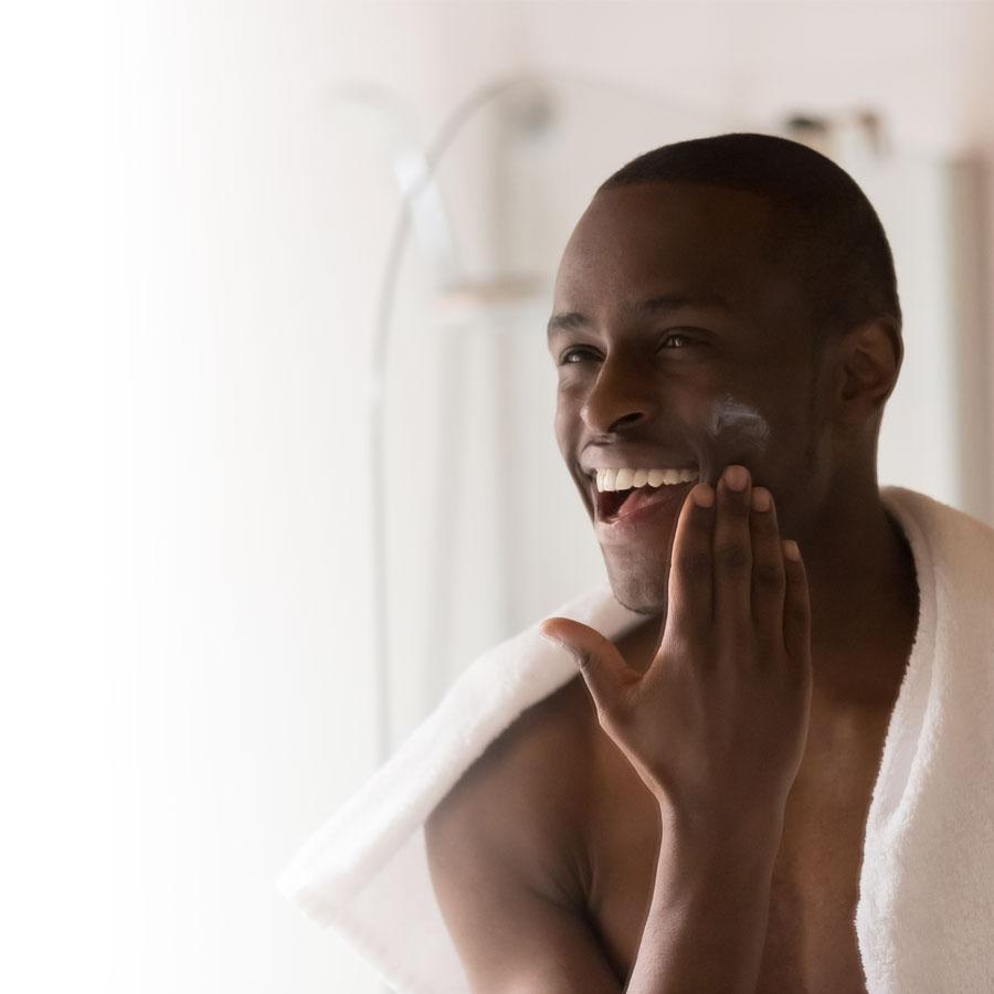 Hommes: une routine de soins énergisante