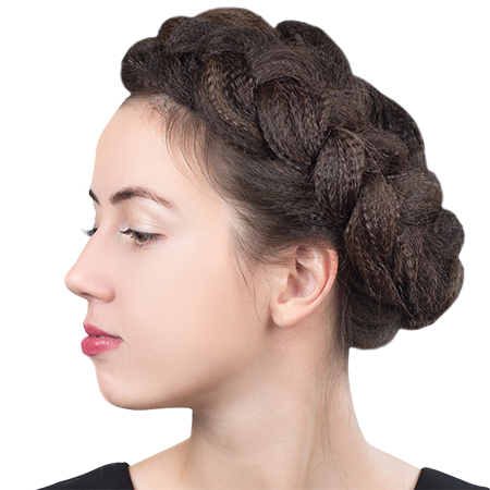 A braided crown in just 5 minutes!