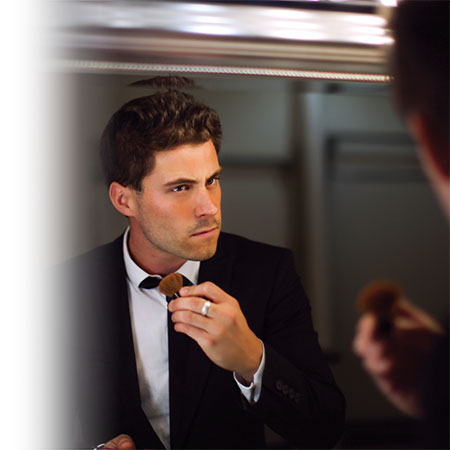 Maquillage au masculin