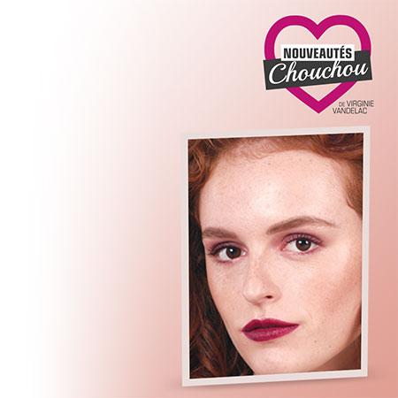 The monochromatic burgundy look