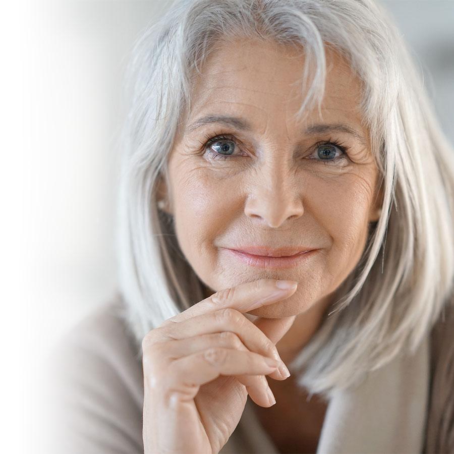 Applying a little grey matter to grey hair