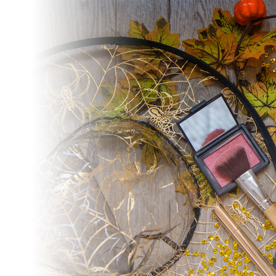 Halloween: use your makeup bag to transform your look