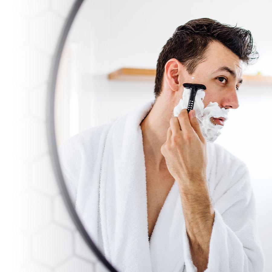 Shaving: Goodbye ingrown hairs!