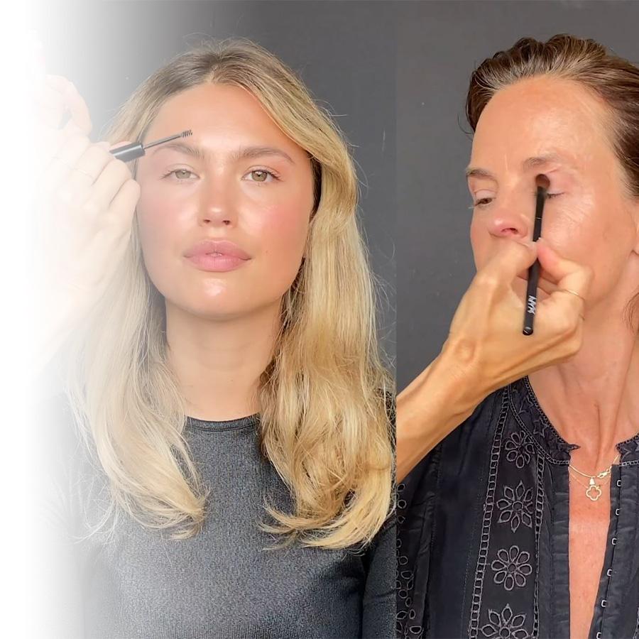 Trois femmes, trois âges, le même look maquillage