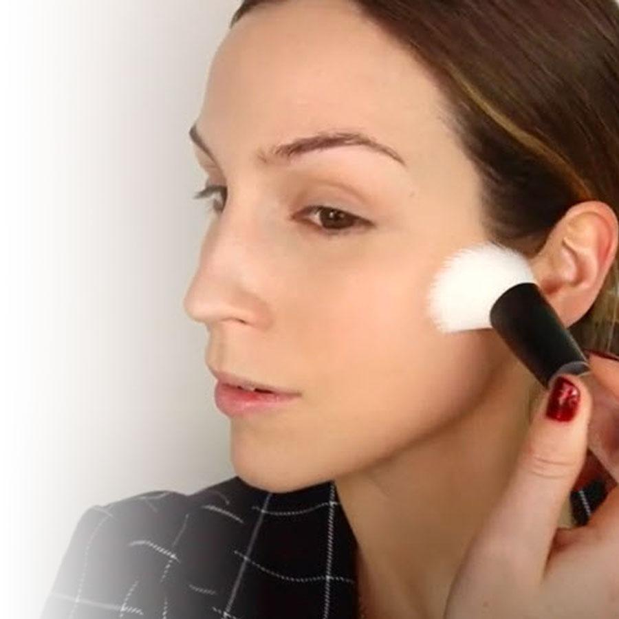 Un look lumineux signé Cynthia Dulude et NYX Professional Makeup