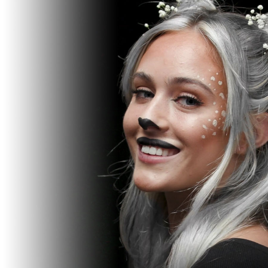 L'Oréal Paris Halloween makeup tutorial: the Enchanted Fawn