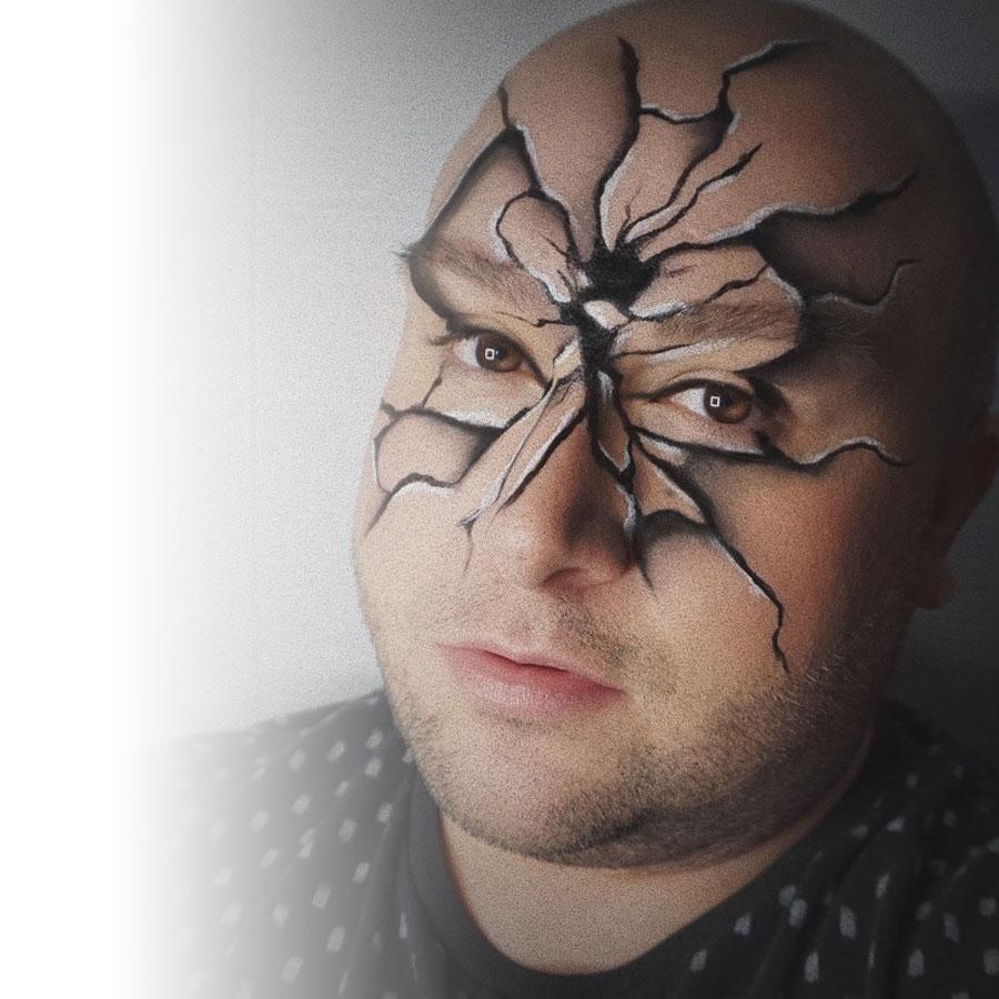 Un look d'Halloween fracassant signé Jean-François CD et NYX Professional Makeup