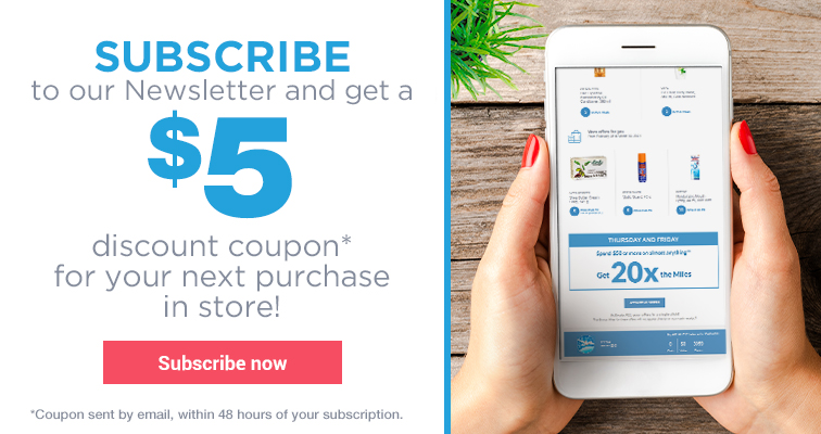 Subscription to the Newsletter