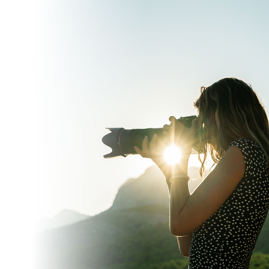 The art of taking beautiful pictures outdoors