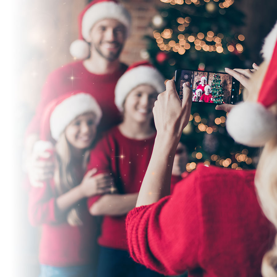 Five tips for great Christmas photos