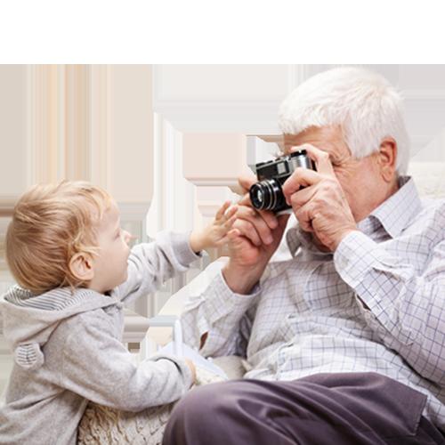 D'émouvants souvenirs pour vos grands-parents