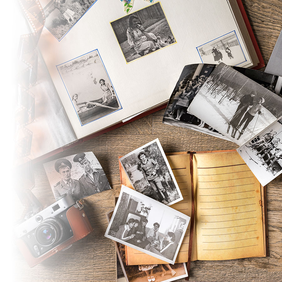 How to make a family tree photo album