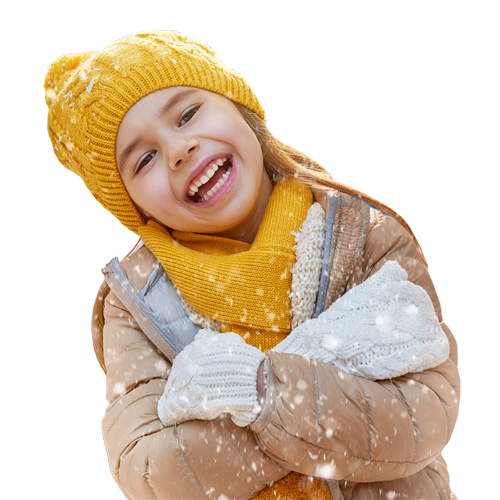 5 idées pour des portraits d'hiver originaux et réussis