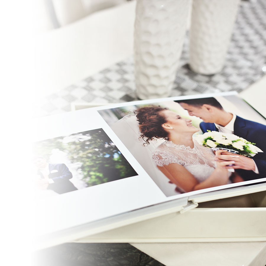 Ten tips for a successful wedding album