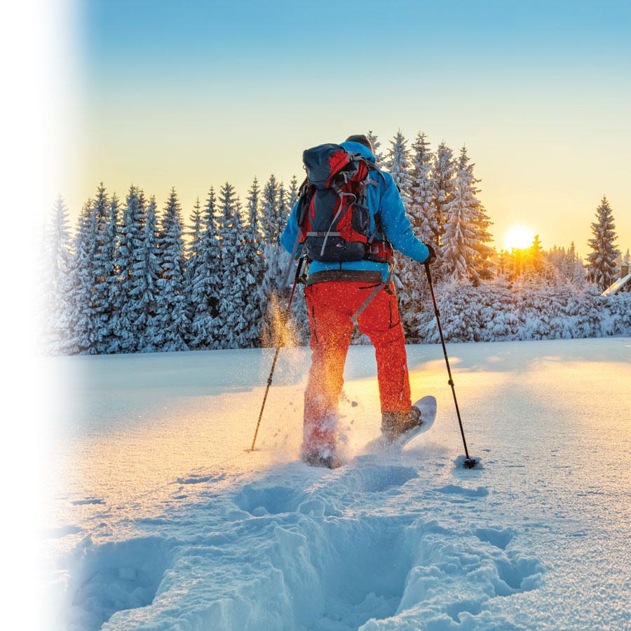 Original ways to photograph winter activities