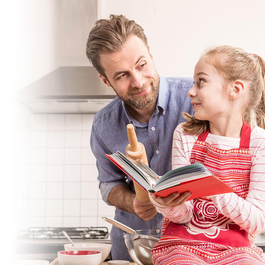Idée-cadeau photo: le livre de recettes familiales