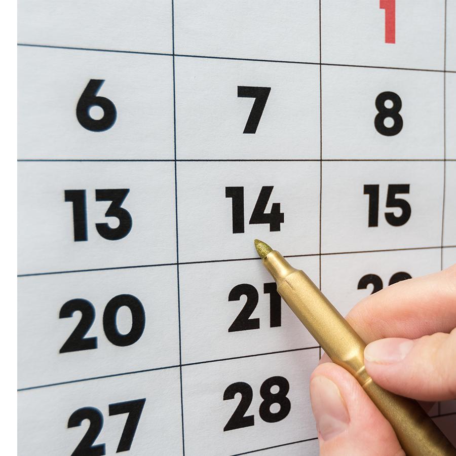 Un calendrier personnalisé pour les enfants