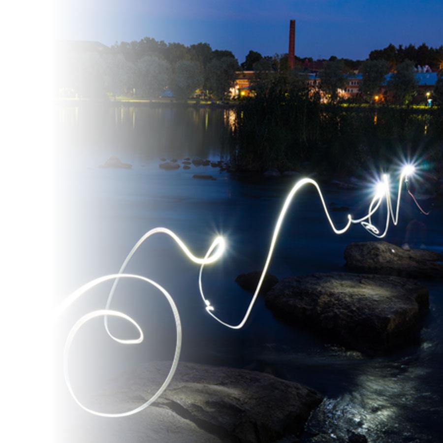 Des photos lumineuses grâce au <em>light painting</em>