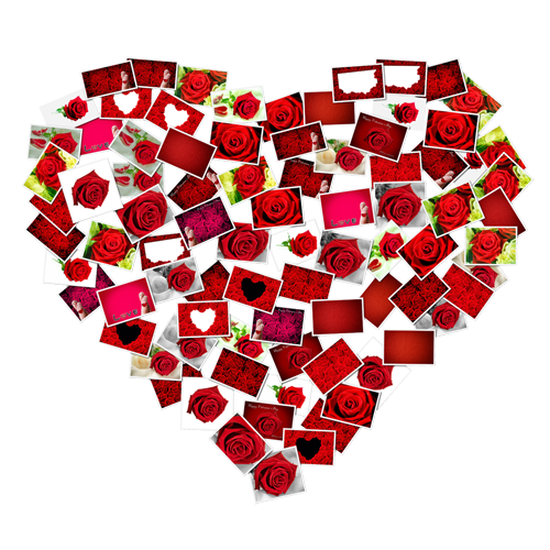 Id e bricolage pour la saint valentin un c ur de photos jean coutu - Coeur pour la saint valentin ...