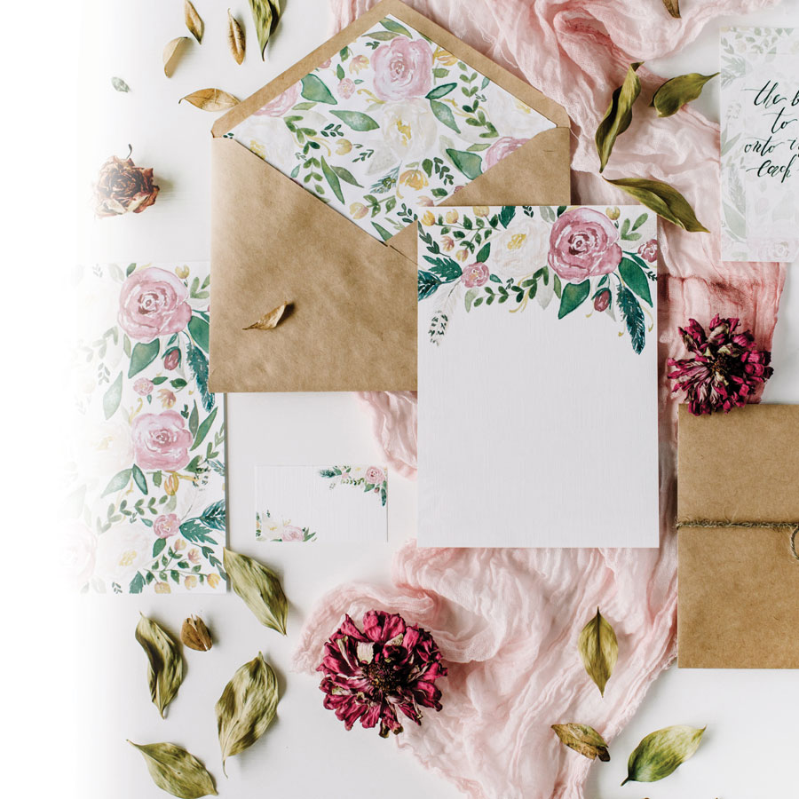 Create your own wedding invitation