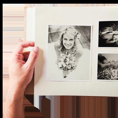 Idée-cadeau: un album photo personnalisé