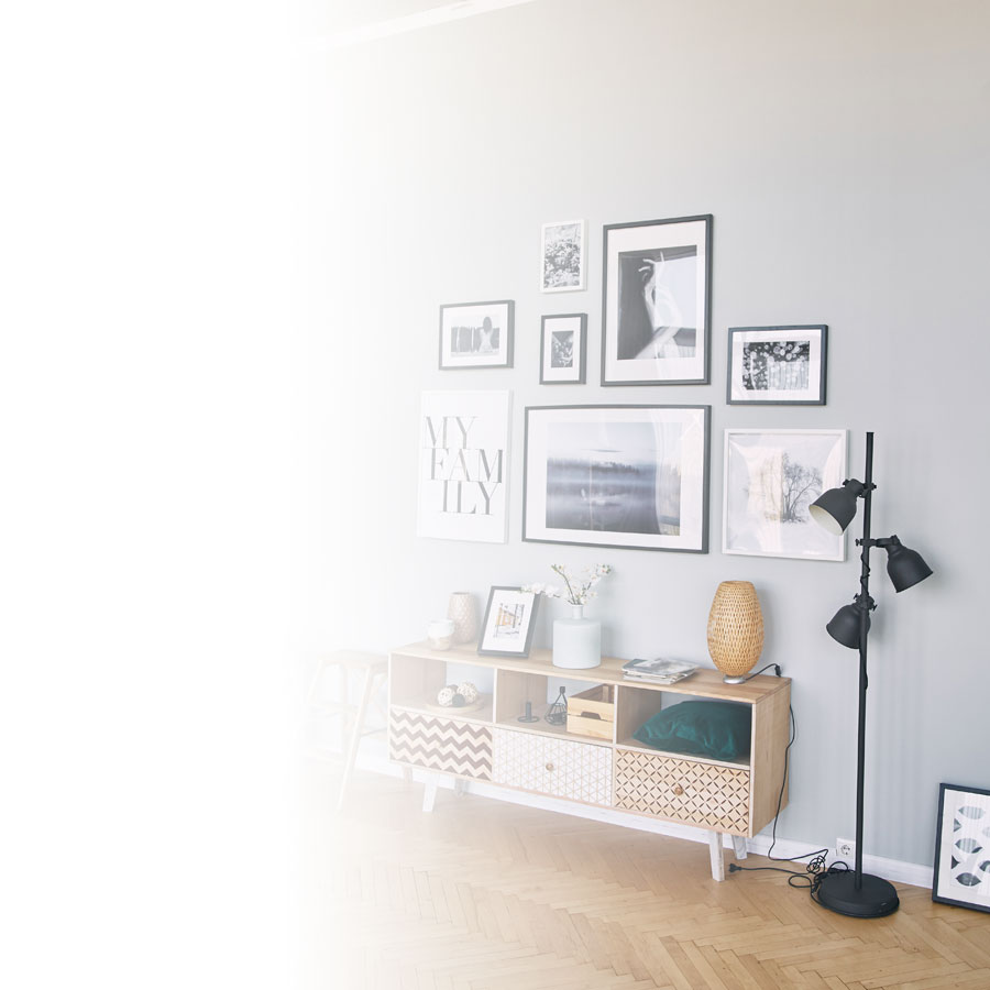 Showcase your photos on a wall
