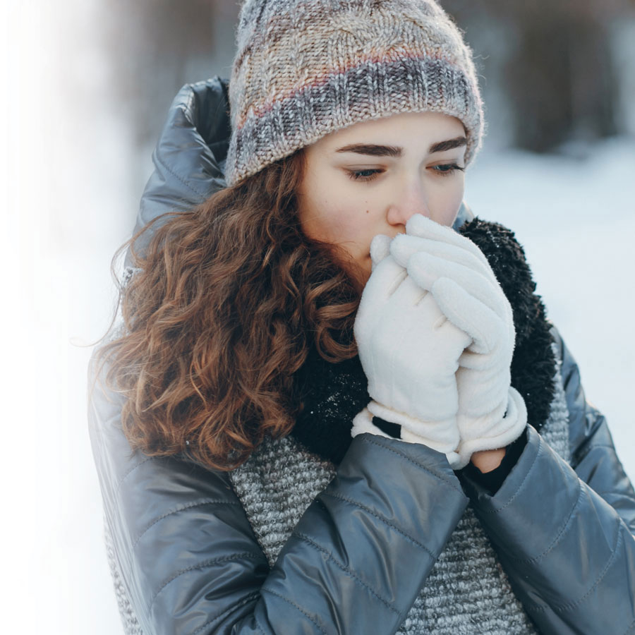 Preventing and treating frostbite