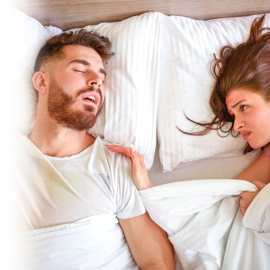 Le ronflement trouble-t-il votre sommeil?